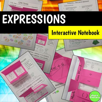 Expressions Interactive Notebook Pages