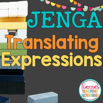 Expressions Game JENGA