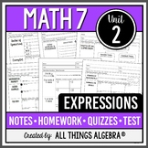 Expressions (Math 7 Curriculum - Unit 2) DISTANCE LEARNING