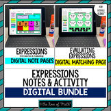 Expressions Note and Activity Bundle for Google Slides™