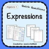 Simplifying Expressions Activity: Fix Common Mistakes!