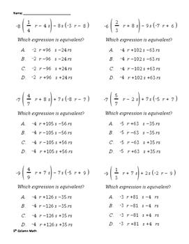 Expressions (Quiz)