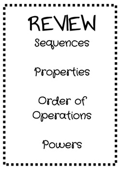 Expressions Review
