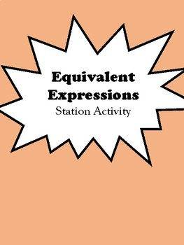 Expressions Stations Activity