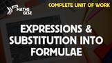Expressions & Substitution Into Formulae - Complete Unit of Work