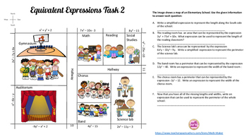 Expressions Task ~ Equivalent Expressions