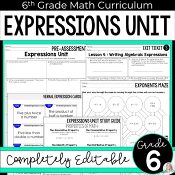 Expressions Unit