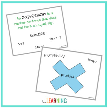 Expressions, Variables, and Equations Lesson {5th Grade CC Aligned}