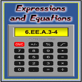 Expressions and Equations: 6.EE.A.3-4