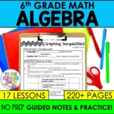 Expressions and Equations- 6th Grade Math Guided Notes