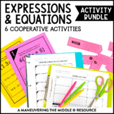 Expressions and Equations Activity Bundle