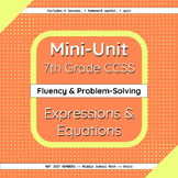 Expressions and Equations Mini-Unit