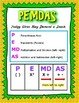 Expressions and Equations Posters: 6.EE.1-9
