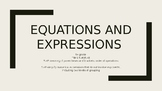 Expressions and Equations Practice