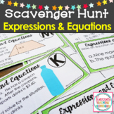 Expressions and Equations Scavenger Hunt