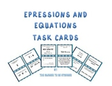 Expressions and Equations Task Cards