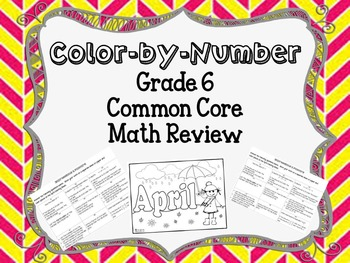 Expressions and Factors Color by Number Review