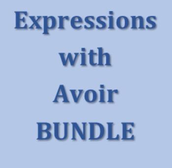 Expressions avec avoir French Bundle