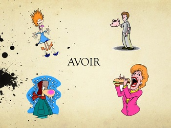 "Expressions avec ""avoir"", speaking activity in French"