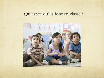 """Expressions avec """"faire"""", speaking activity in French"""