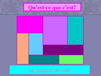 Expressions de quantité Quantity French power point