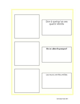 Expressions idiomatiques de la francophonie