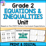 Expressions & Equality Unit (Grade 2)
