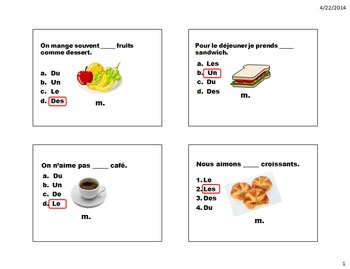Expressions of Quantity and Partitive Unit