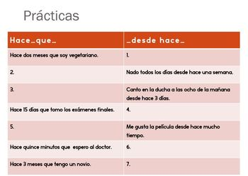 """Expressions of time with """"hace que"""", Spanish"""