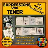 Spanish Expressions with Tener Interactive Notebook Trifol