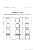 Expressive Art Worksheets