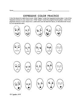 Expressive Color Practice
