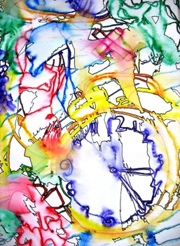 Expressive Contour Line Still-Life Drawing Lesson Plan