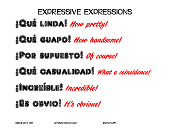 Expressive Expressions