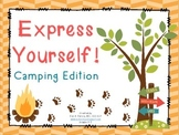 Expressive Language Activities: Camping Theme!