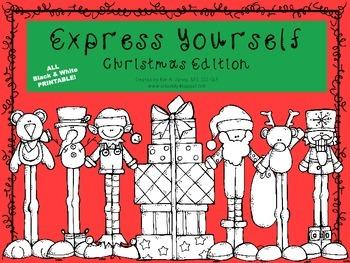 Expressive Language Activities: Christmas Edition