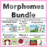 Language Therapy Bundle - Morphemes