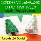 Pop Up Speech Christmas Trees: Expressive Language Craft