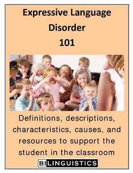 Expressive Language Disorder 101