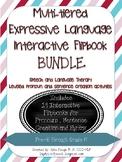 Expressive Language Interactive Flip Book BUNDLE: Pronouns, Syntax CCSS (Speech)