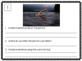 Expressive Language Picture Prompts