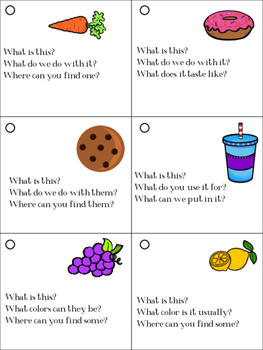 Expressive Language Pocket Packet