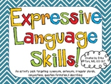 Expressive Language Skills Activity Pack!