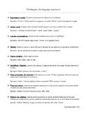 Expressive Language Strategies Handout- Spanish