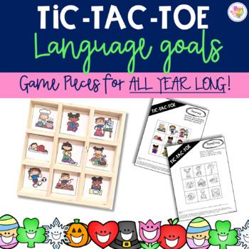 Language Tic Tac Toe- (Target Dollar Spot Game)