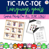 Language Tic Tac Toe- (Target Dollar Spot Game)