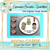 Expressive Quantitative Concepts BOOM Cards – Speech Therapy Distance Learning