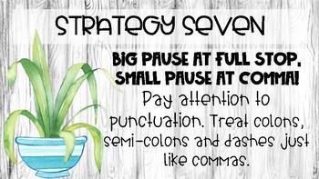 Expressive Reading Strategies - EDIT STRATEGY 7