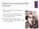 Expressive Self Portrait PowerPoint