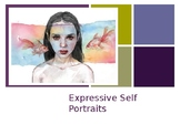 Expressive Self Portrait PowerPoint